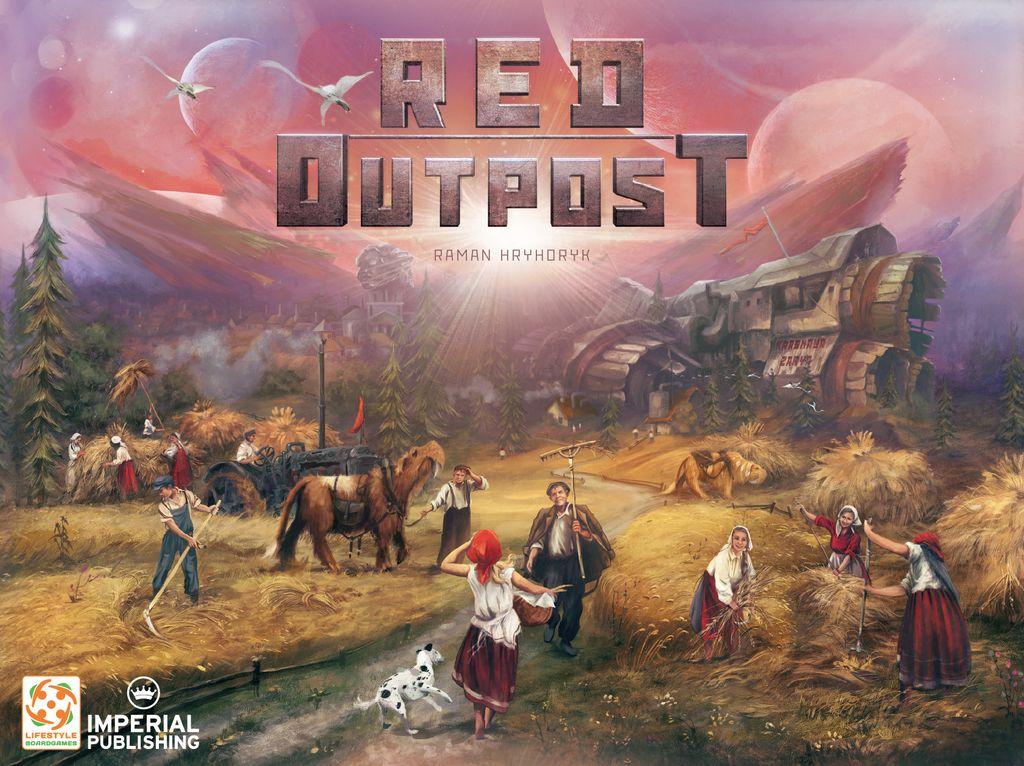 Jeu Red Outpost par Imperial Publishing