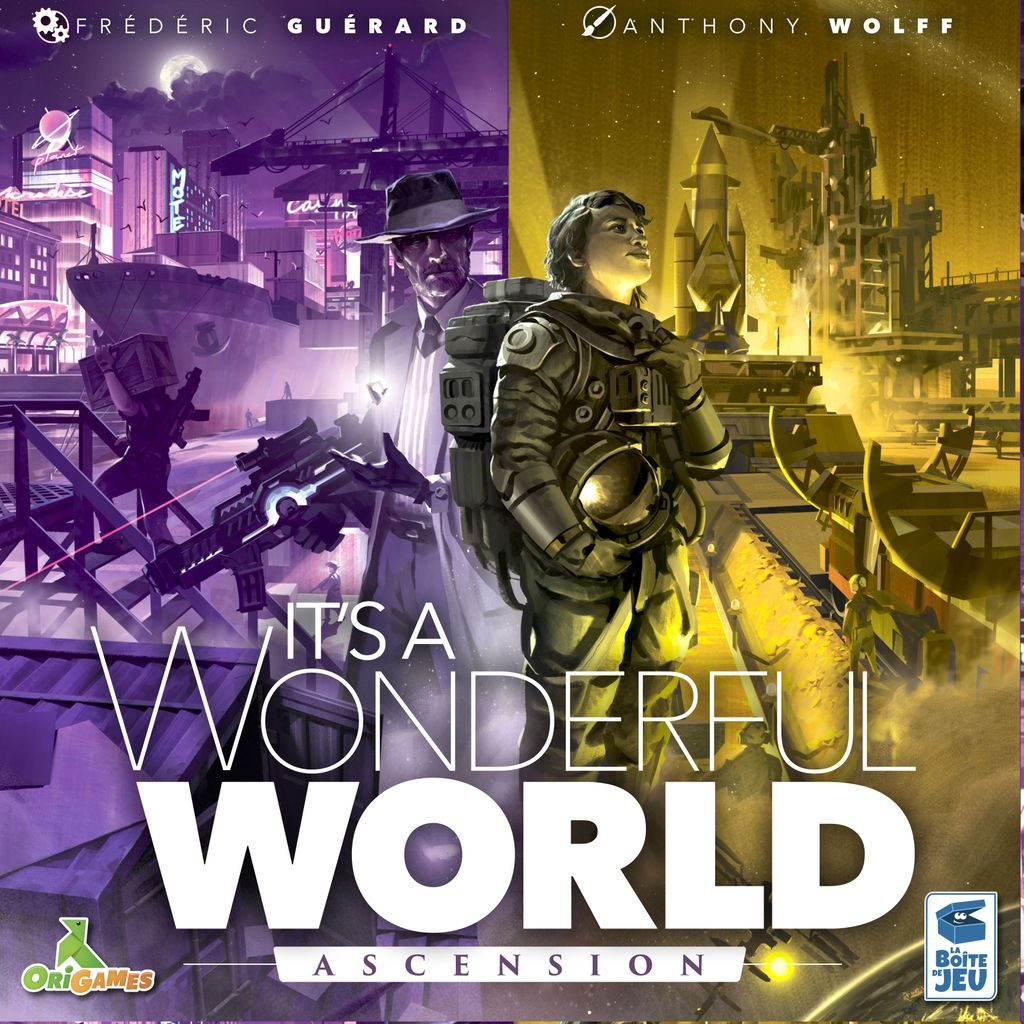 Jeu It's a Wonderful World par La boîte de jeu - Extension Ascension
