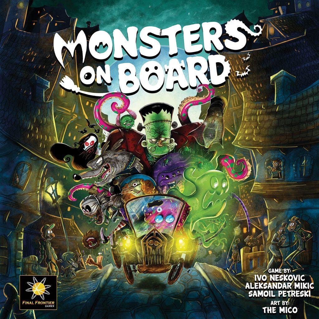 Jeu Monsters on Board par Final Frontier Games