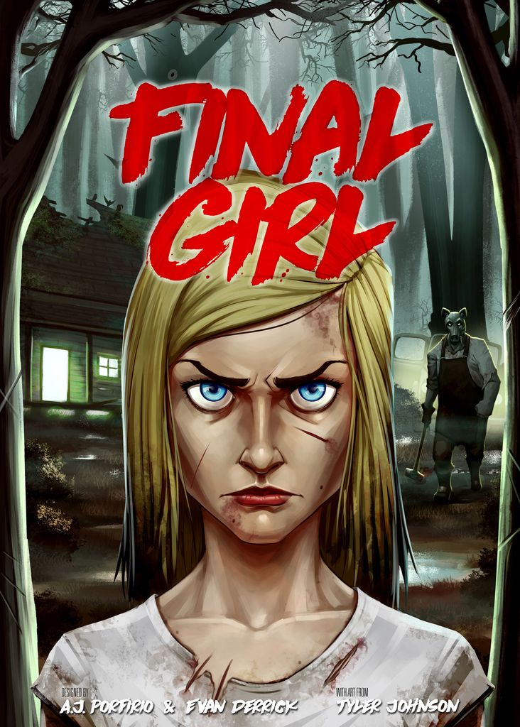 Jeu Final Girl par Van Ryder