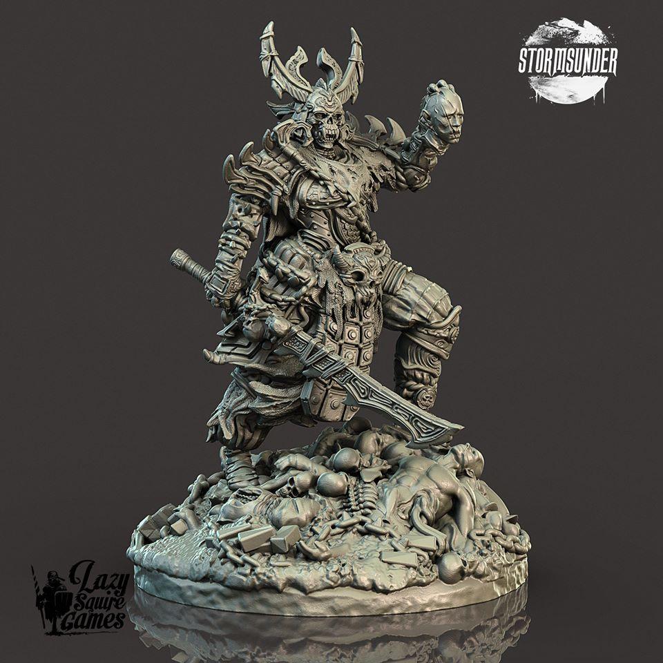 Une figurine duLe matériel du Jeu Stormsunder par Lazy Squire Games