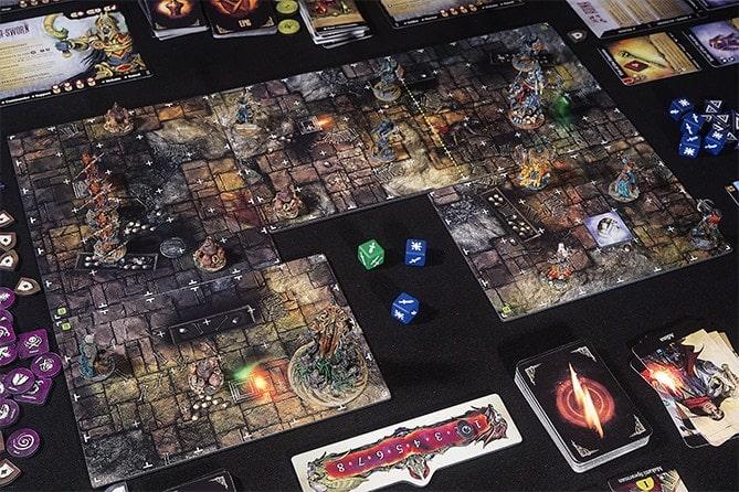 Partie en cours du Jeu Stormsunder par Lazy Squire Games