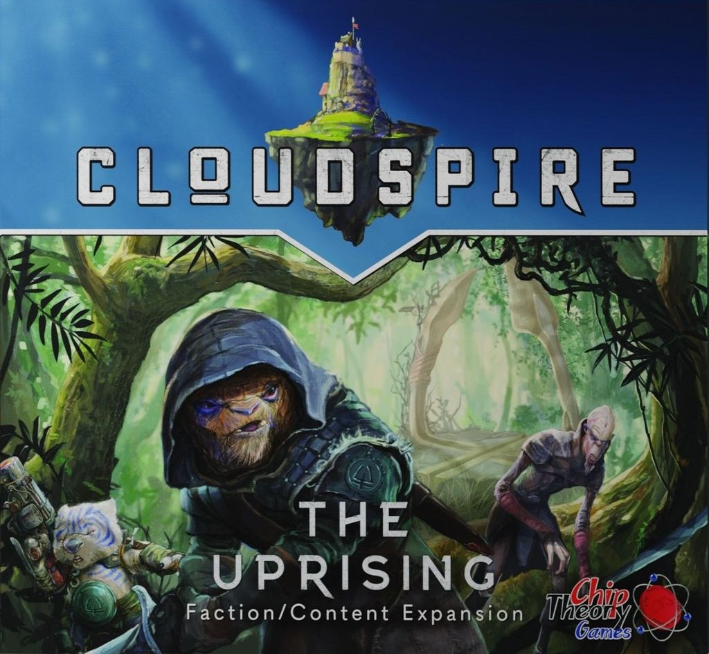 jeu Cloudspire - Extension The Uprising - par Chip Theory Games