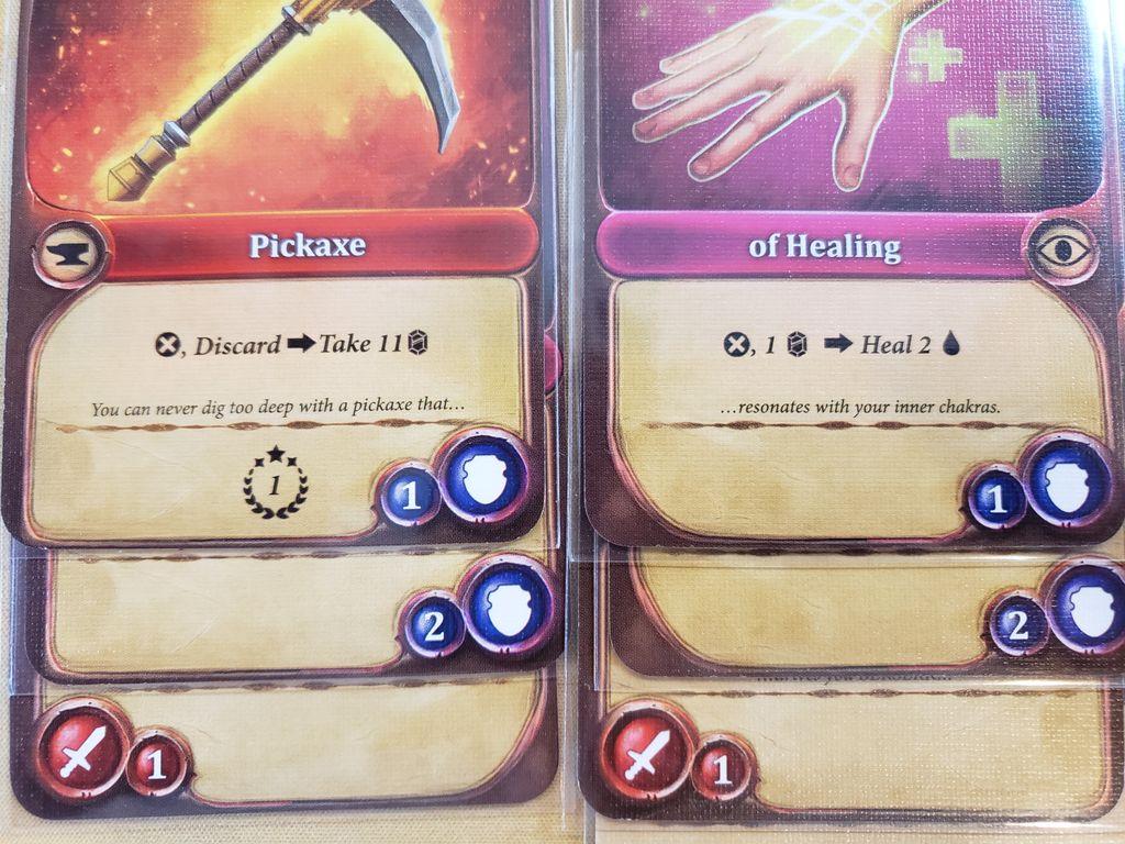 jeu Enchanters par GIndie - exemple de tableau