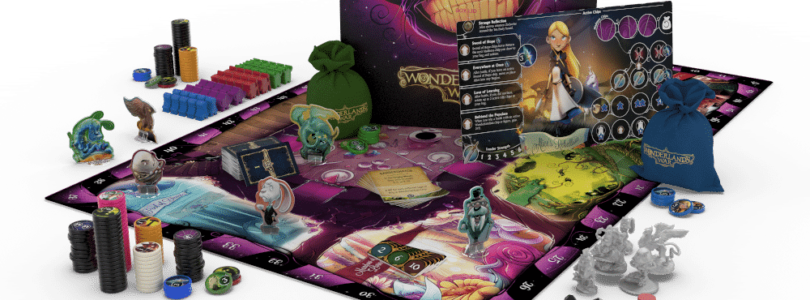 Jeu Wonderland's War par Druid City Games - éclaté