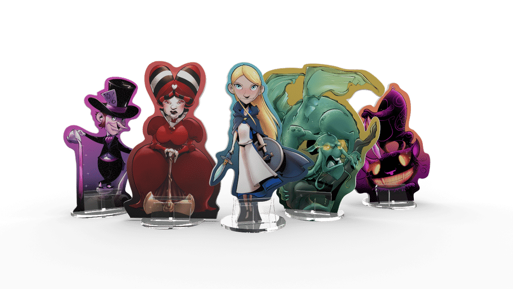 Jeu Wonderland's War par Druid City Games - standees