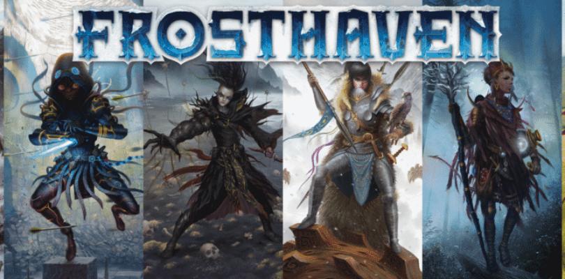 Frosthaven sur Kickstarter dans 10 jours