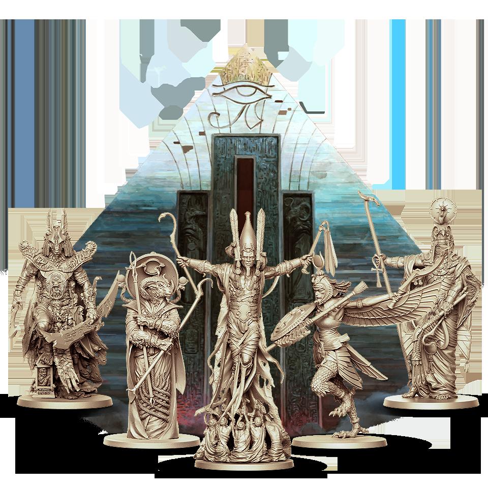 Ankh: Gods of Egypt par CMON - Dieux de la boîte de base