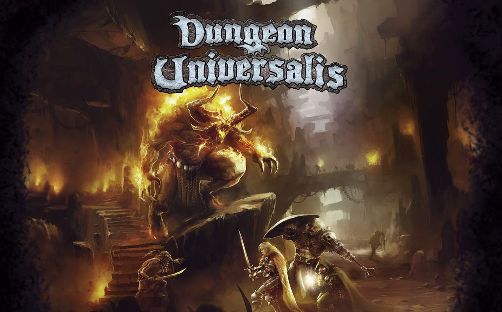 Jeu Dungeon Universalis - par Ludic Dragon Games