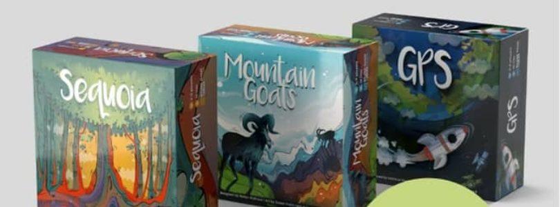 GPS, Sequoia et Mountain Goats : trois jeux d'apéro jouables en 10 minutes