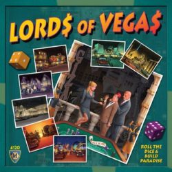 Jeu Lords of Vegas - 10th Anniversary Kickstarter