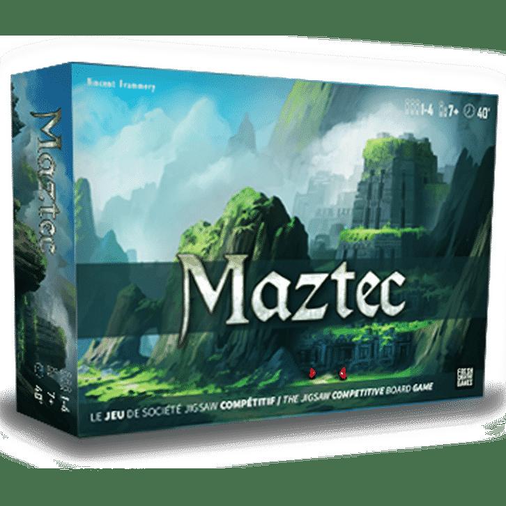 Jeu Maztec - puzzle compétitif