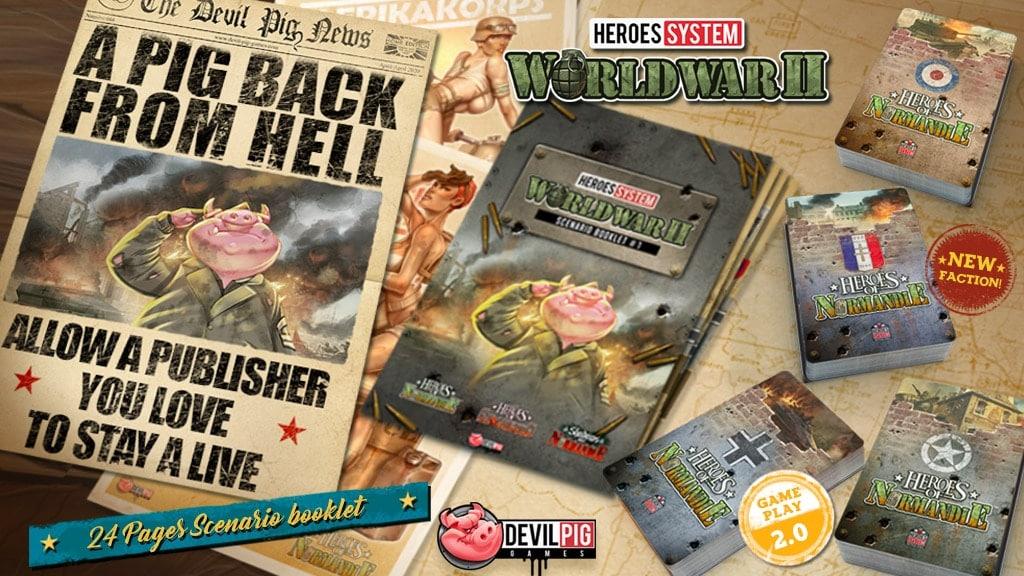 Kickstarter Devil Pig Games - Back from Hell