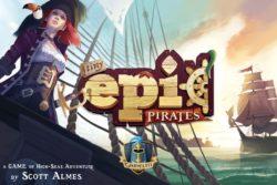 Jeu Tiny Epic Pirates par Gamelyn Games