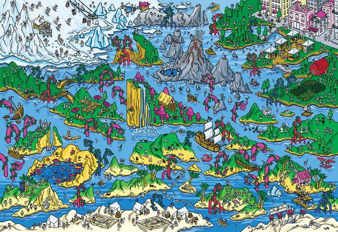 Magic Puzzles - The Happy Isles