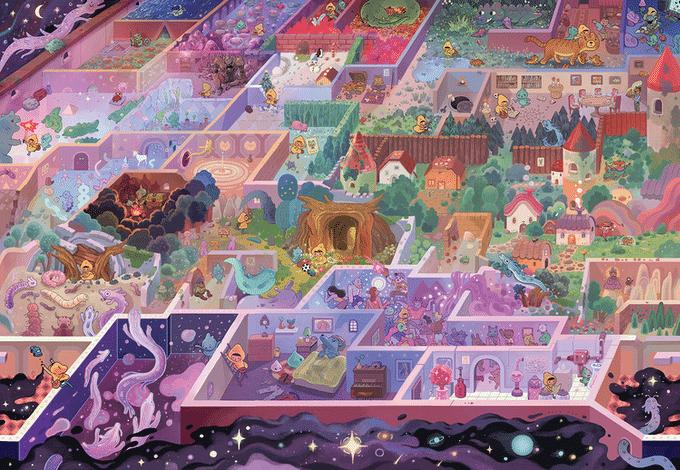 Magic Puzzles - The Mystic Maze