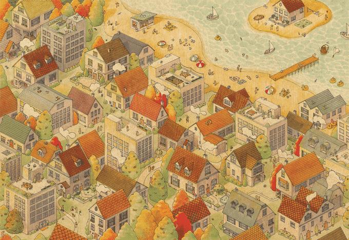 Magic Puzzles - The Sunny City
