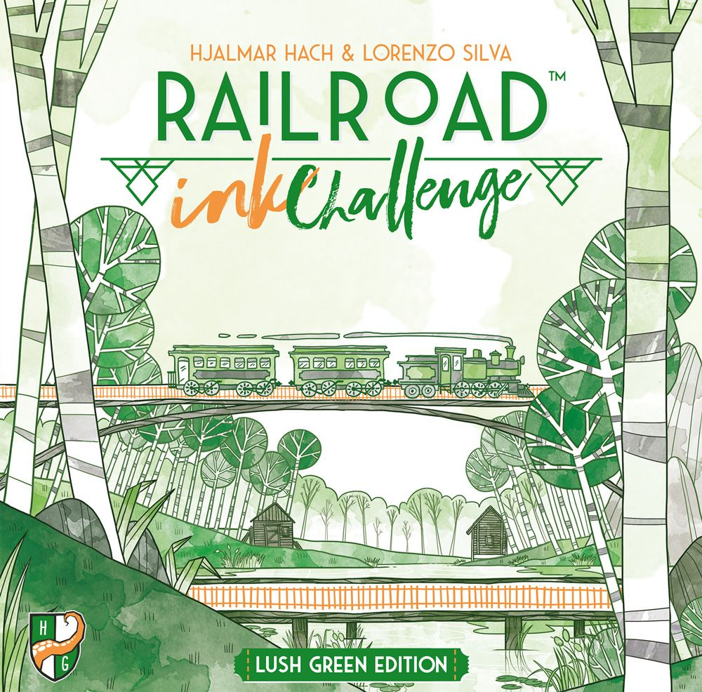 Jeu Railroad Ink Challenge- Lush Green Edition