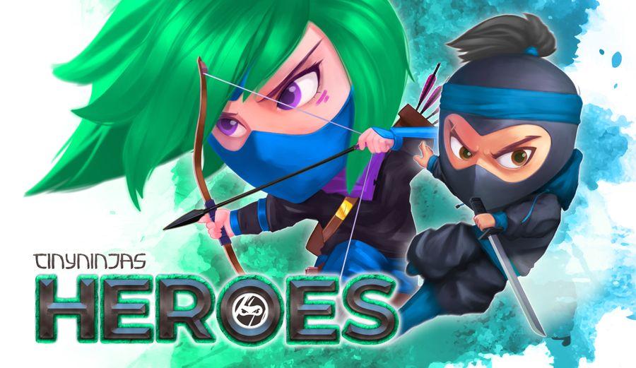 jeu Tiny Ninjas: Heroes