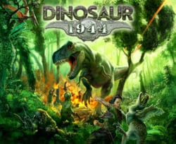 Jeu Dinosaur: 1944 par Petersen Games