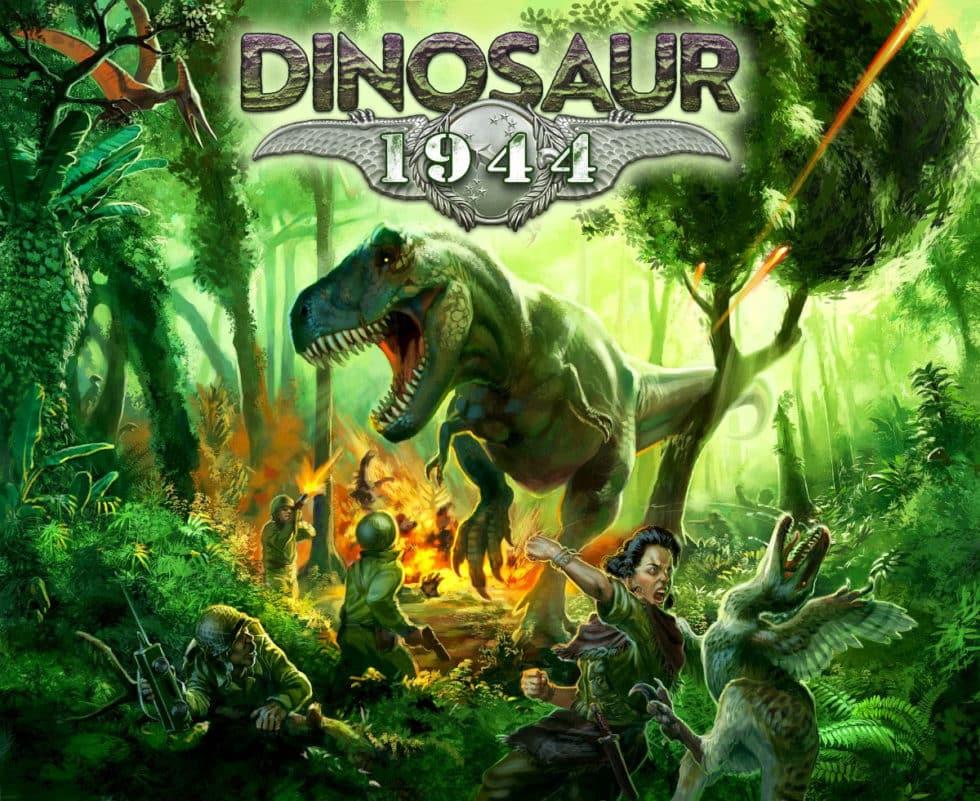 Jeu Dinosaur: 1944 par Petersen Games