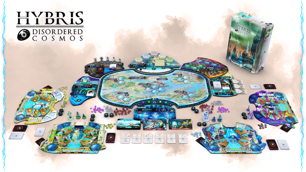 Jeu Hybris: Disordered Cosmos par Aurora Games