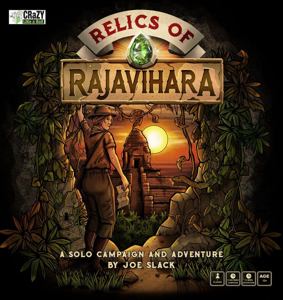 Jeu Relics of Rajavihara