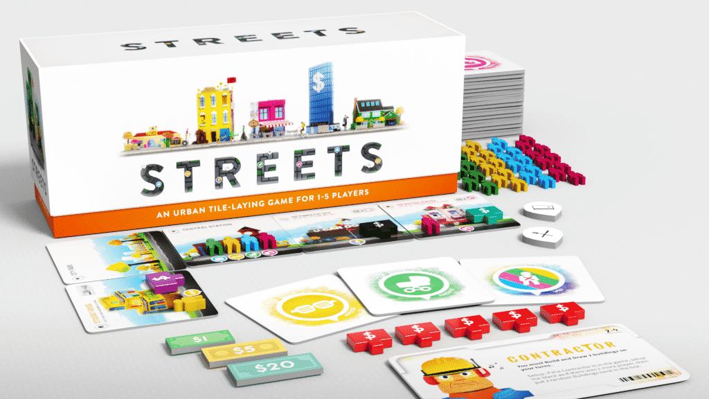 Jeu Streets - par Sinister Fish Games