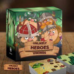 Jeu Unlikely Heroes: Vikings, Cowboys & Pharaohs par Anecdote Games