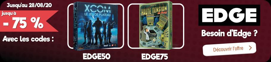 -50% ou -75% sur les jeux Edge
