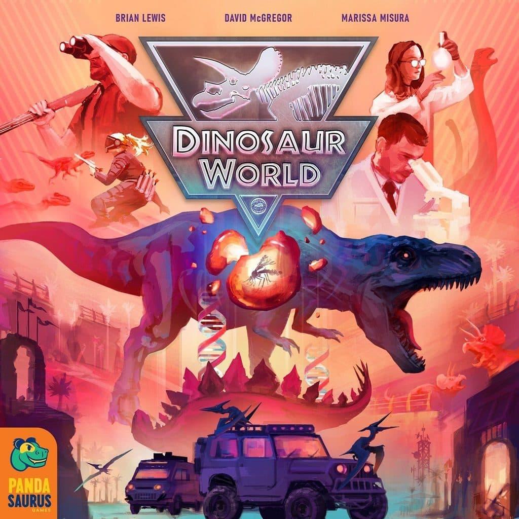 Jeu Dinosaur World par Pandasaurus