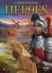 jeu / extension Cartographers Heroes - par Thunderworks Games