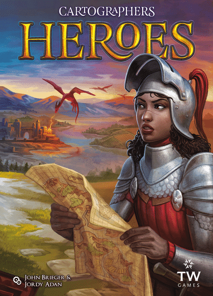 jeu / extension Cartographers Heroes - par Thunderworks Games