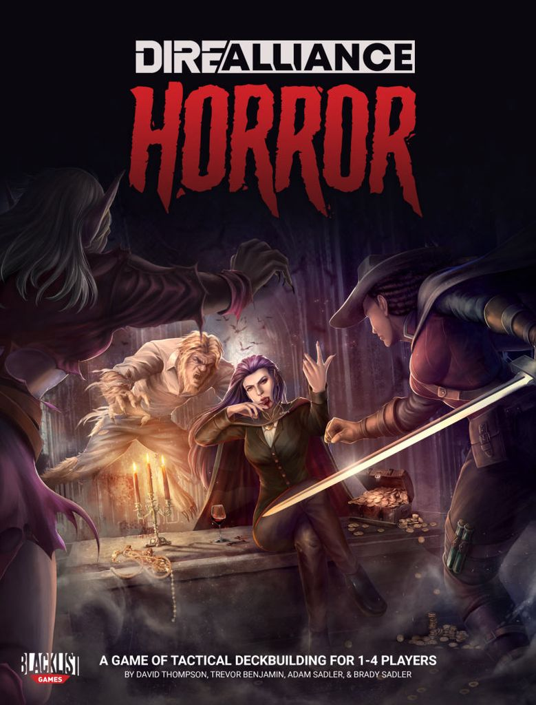 jeuDire Alliance Horror - par Blacklist Games