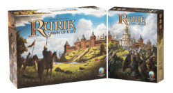 Jeu Rurik: Dawn of Kiev + Extension Stone & Blade - par PieceKeeper Games