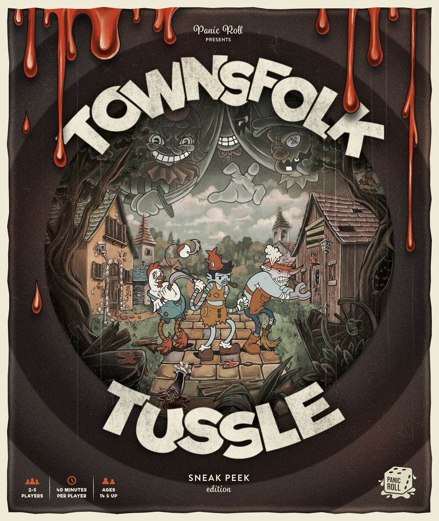 jeu Townsfolk Tussle - par Panic Room