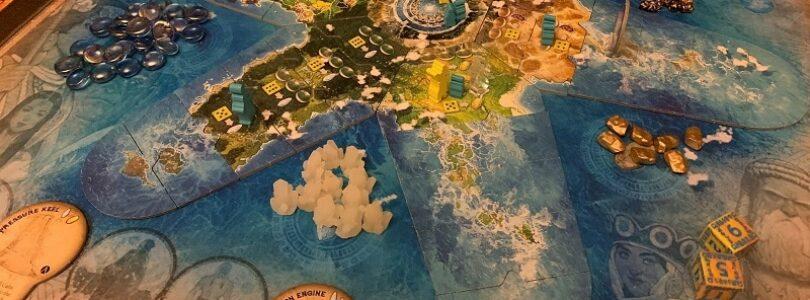jeu Atlantis Rising en francais par Lucky Duck Games