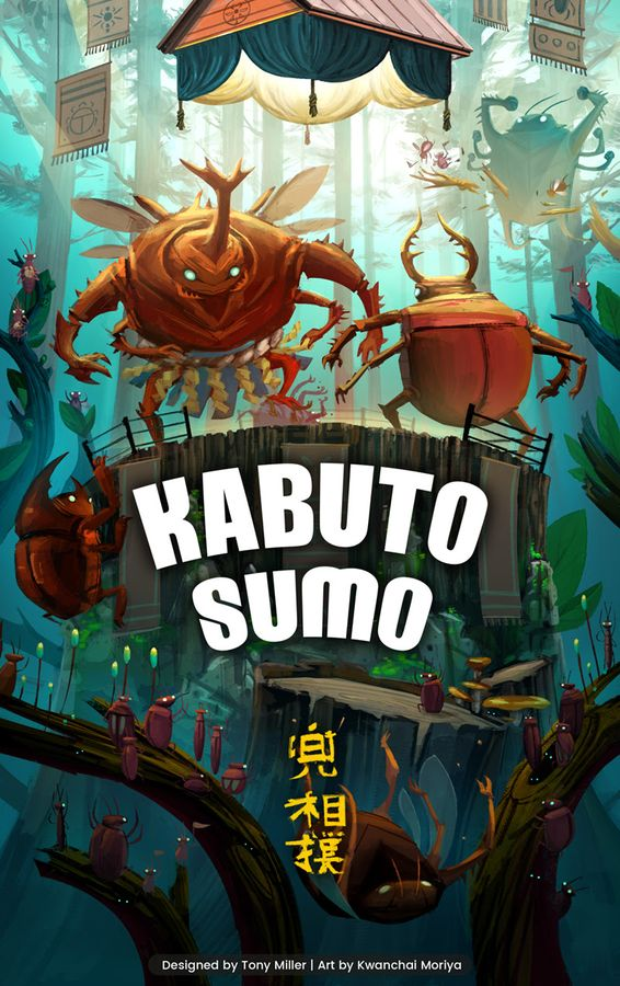 jeu Kabuto Sumo - par BoardGameTables