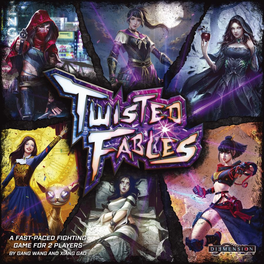 jeu Twisted Fables - par Diemension Games