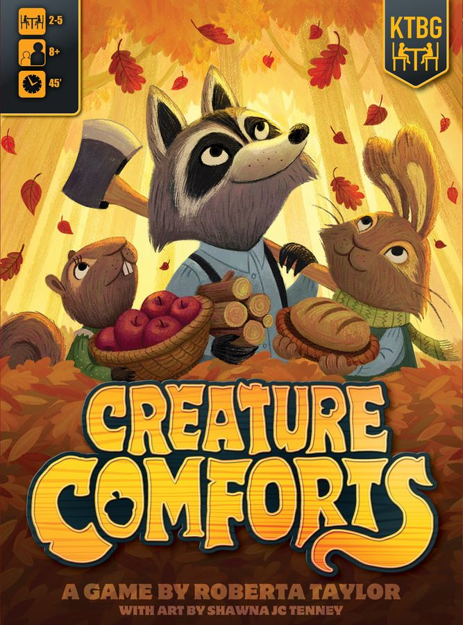 jeu Creature Comforts par Kids Table BG