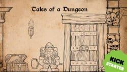 jeu Tales of a Dungeon - par Nicolas Audefroy