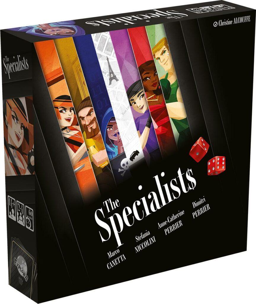 jeu The Specialists - par Explor8
