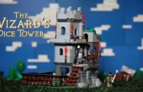 The Wizards Dice Tower - A Game Tank Brick Set
