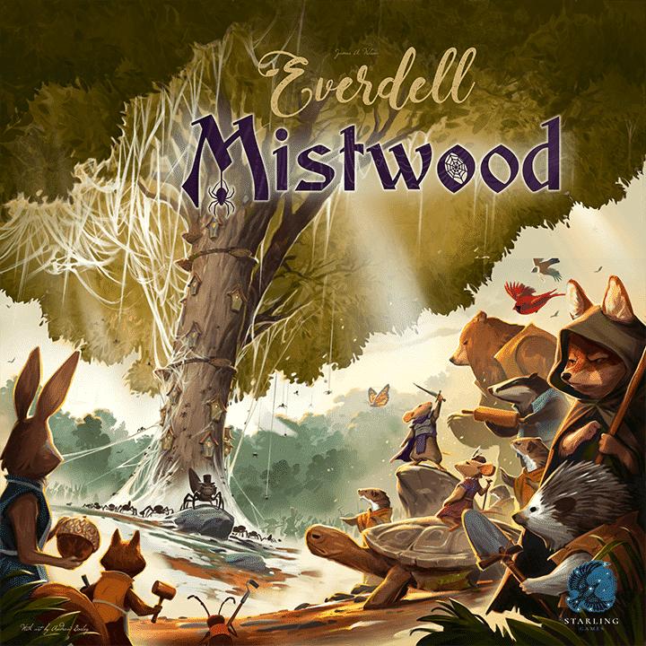 Everdell - par Starling Games - Extensions Mistwood