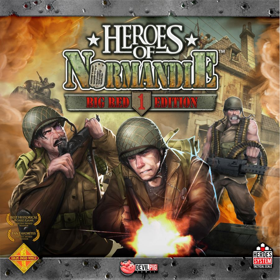 Heroes of Normandie Big Red One Edition - par Devil Pig Games