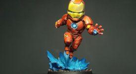 Marvel United : le pas à pas peinture - 1 - Iron Man