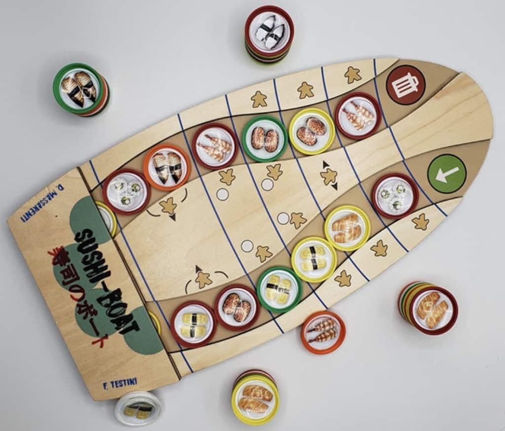 jeu Sushi Boat - par Japanime Games