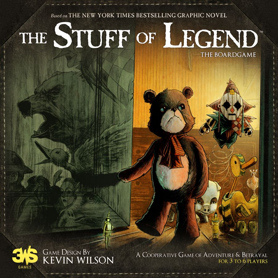 The Stuff of Legend - par Th3rd World Studios
