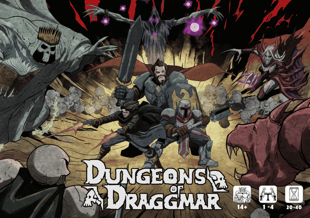 Dungeons of Draggmar - par The Moongrel