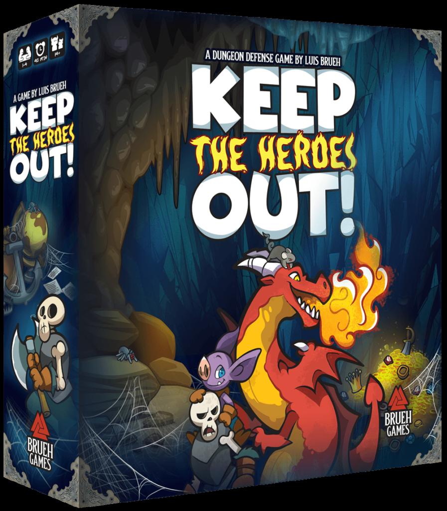 Keep the Heroes Out - par Luis Brueh